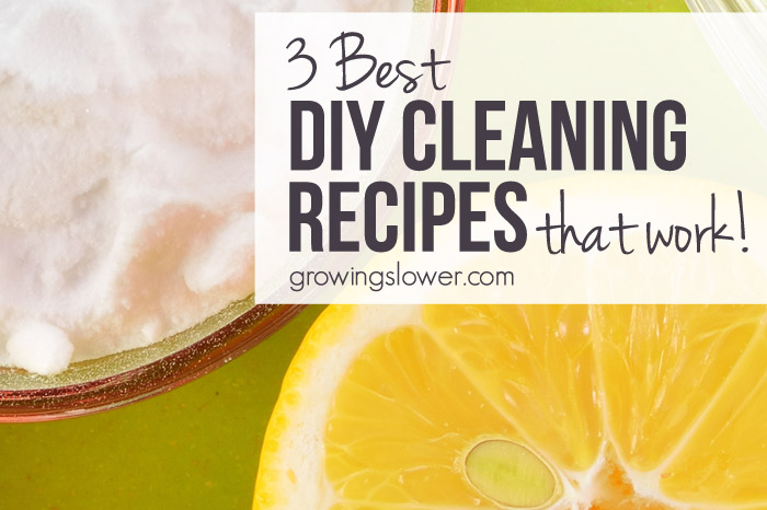 3 DIY Green Cleaning Recipes that Work