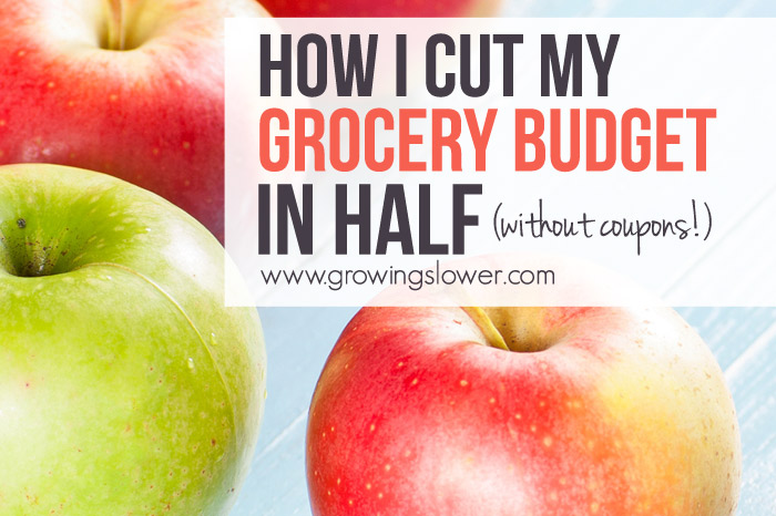 How I Cut My Grocery Budget in Half