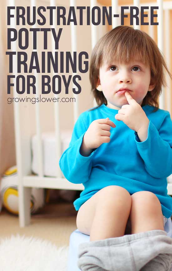 How to Potty Train a 20 month Old Boy - Before you start potty training, save yourself the stress, and read this first! I used this method for both my kids and it really works for potty training boys, but of course you can use it for potty training girls too. This explains everything from the night-before preparation, to ditching the diapers the first day, and self-initiation. This method of potty training works great for kids as young as 20 months and on up.