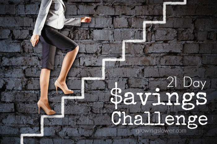 Join the 21 Day Savings Challenge