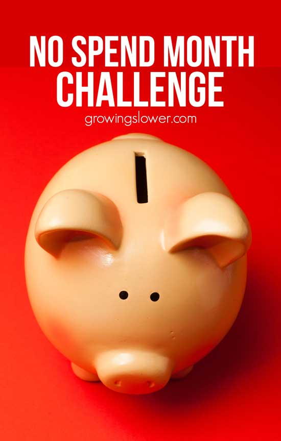 No Spend Month is one of the best ways to dramatically save money, even when you're on a super tight budget. After doing a buy nothing challenge three times, and paying off all our debt, I'm sharing my best No Spend Month tips and stories, so you can do your own no spend challenge and save money toward your personal finance goals. Buy Nothing and save money.