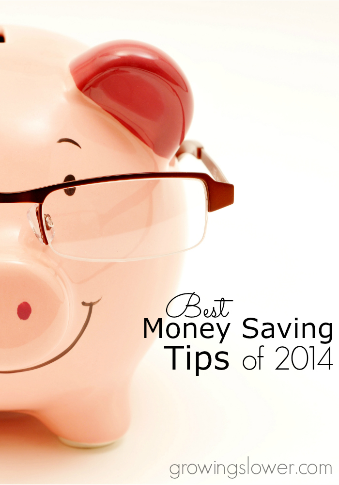 Best money saving tips of 2014! Includes money saving tips for saving on groceries, household supplies, shopping, gifts, travel, utilities, and more!