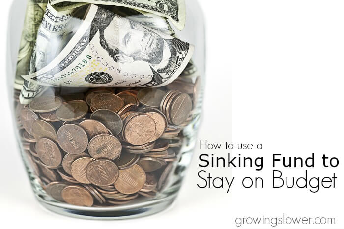 How to Use a Sinking Fund to Stay on Budget