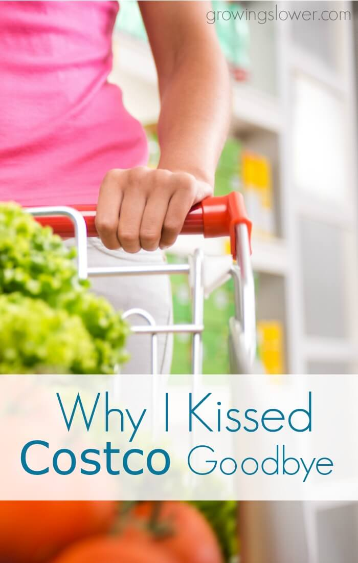 Find out why this wife and mother of two teenage boys decided to say goodbye to her Costco membership. An honest look at distinguishing between needs and wants when the budget has to budge.